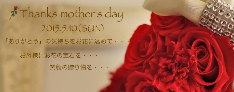 2015母の日
